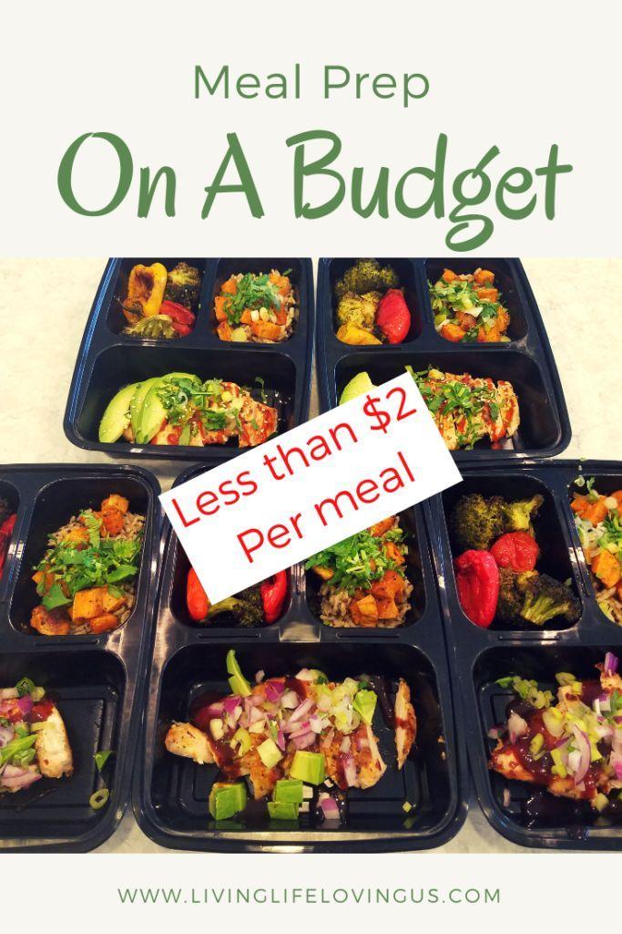 Meal preparation for under $ 2 a meal – meal preparation LivingLifeLovingUs%