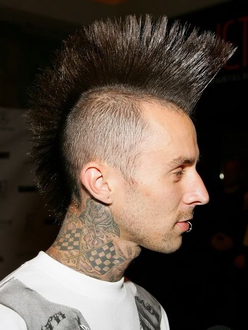 Punk Mohawk Hairstyles Mohawk Hairstyles for Men