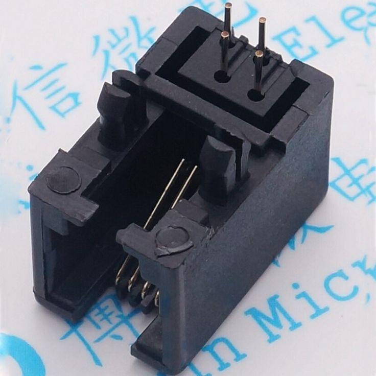 RJ95001-4P4C 95001 4P4C RJ11 Telephone Socket Network Socket New #Affiliate
