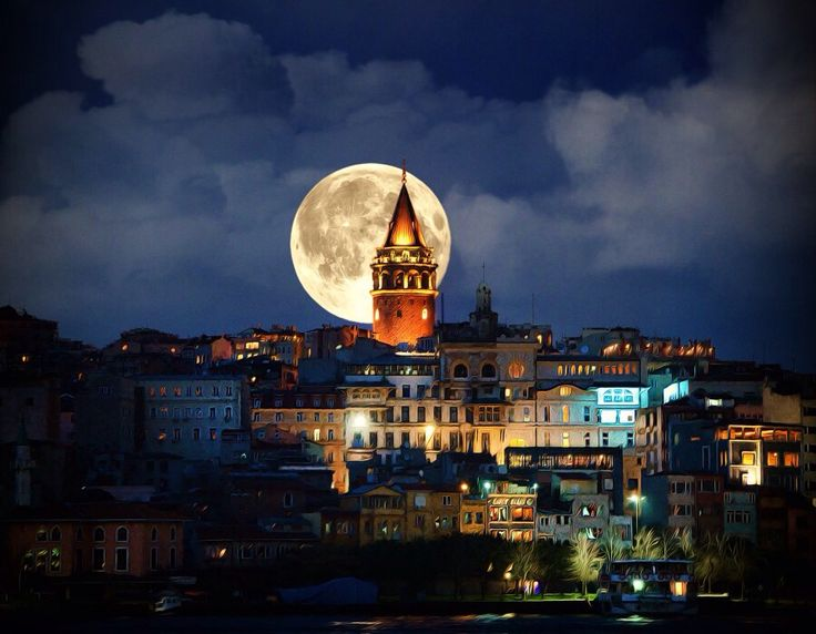 Galata Tower in İstanul.
