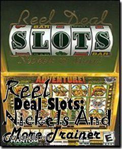 Reel deal casino trainer casino novel