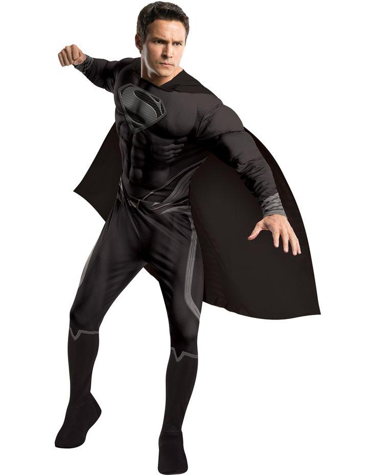 Superman Black Suit Adult Costume ($54.99)