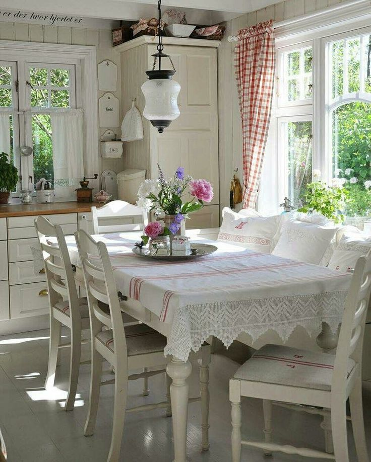 Pretty dining area