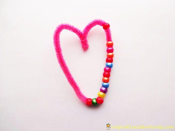 Simple Valentine Heart Craft » Inspiration Laboratories