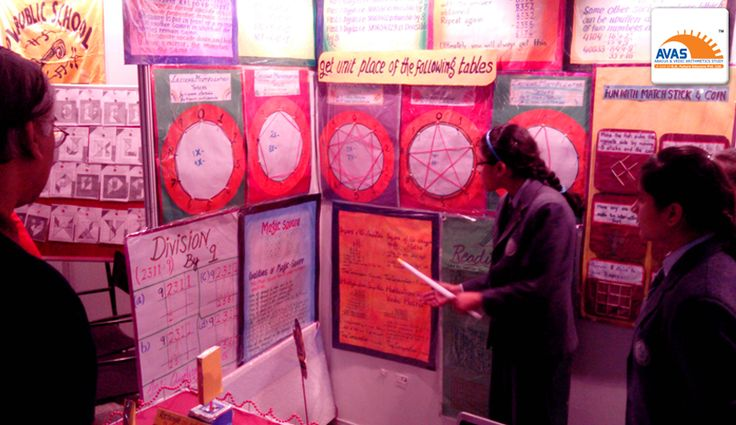 Presentation showcasing hidden math Talent in students from different schools at exhibition held at IIT Delhi