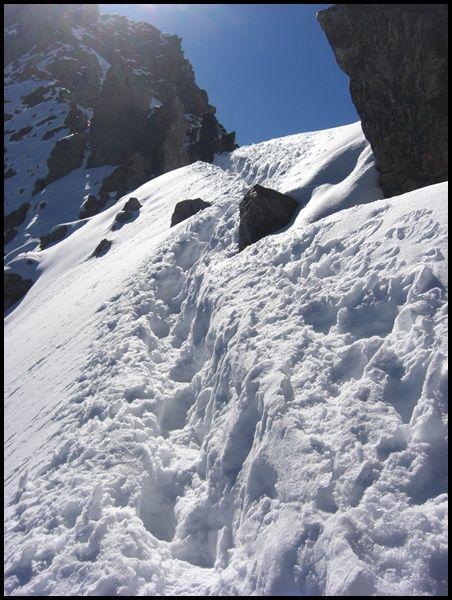 Über das Pitztaler Jöchl auf dem E5 zwischen Oberstdorf  und Meran 2010. | Etappe 5 | Tirol | Österreich |