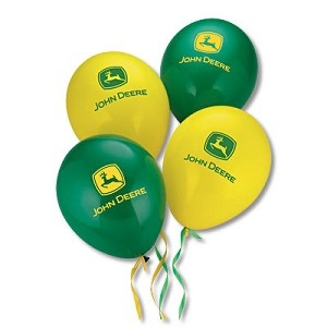 John Deere Green/Yellow Balloons