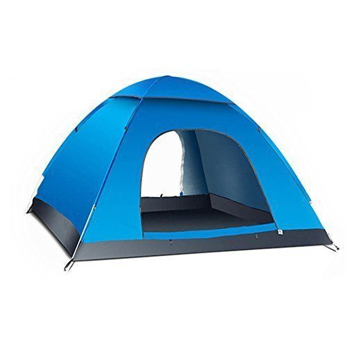 Outdoor Camping Hiking Tent 3-4 Person Quick Setup Backpacking with Carry Bag #OutdoorCampingHikingTent34Person