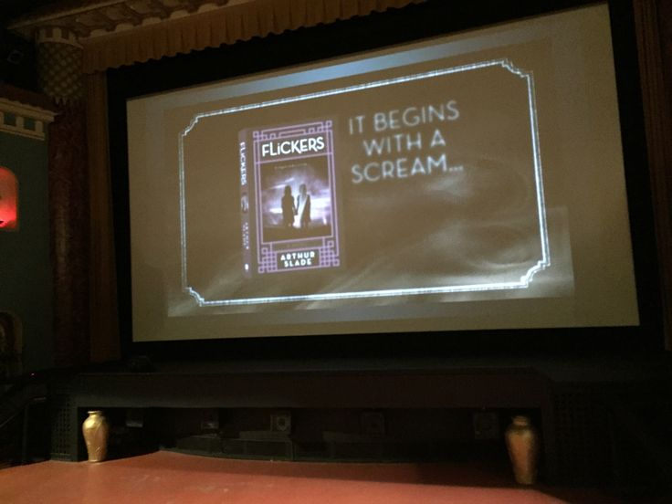 Launching A Book In A Movie Theatre (the prequel)
