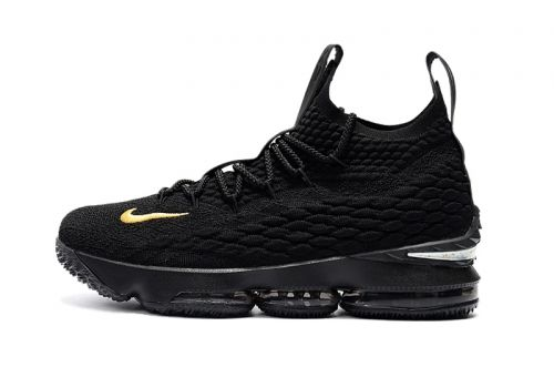 30ea209ffba Best Quality Mens Nike LeBron 15 PK80 all-Black Basketball Shoes For Sale -  ishoesdesign