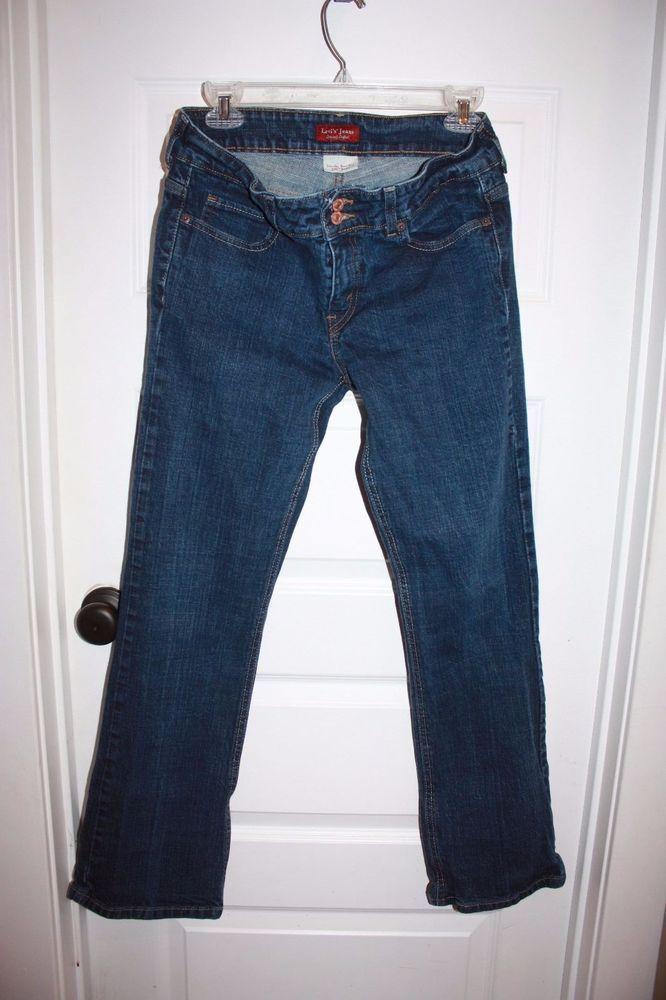 Women's LEVIS 526 Slender Boot Cut Jeans - size 8M - EUC! #Levis #BootCut