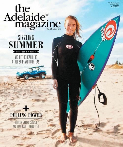 The Adelaide* Magazine December 2012 cover. #Adelaide   Photo: Jody Pachniuk