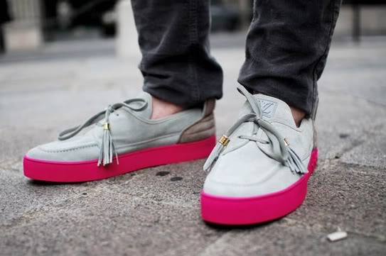 kanye west x louis vuitton mr hudson boat shoe cool
