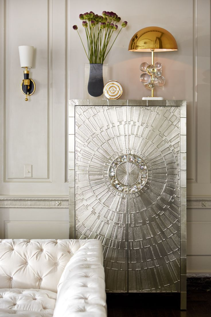 Add Exotica With Touches Of Abalone Like The Handles Jonathan Adler Talitha Armoire