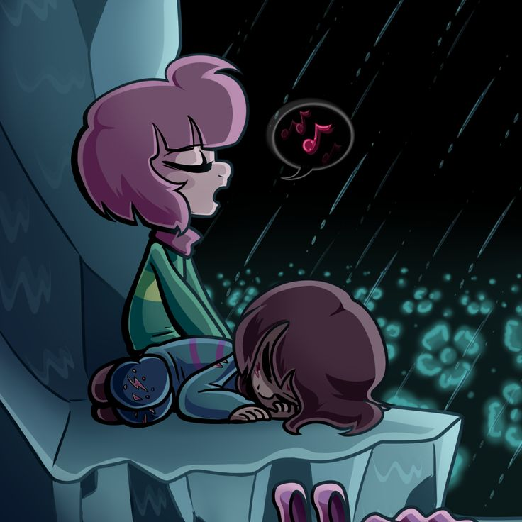 """""""More of the """"Chara likes to pretend to be Frisk's older sibling"""" headcanon. I can see them trying to force the kid sibling/older sibling dynamic on Frisk at first, as a way to manipulate and control them, but over time, Chara kind of forgets why they're being so nice and protective of their vessel, and looking after Frisk and trying to make the journey through the underground as bearable as possible just becomes routine."""""""