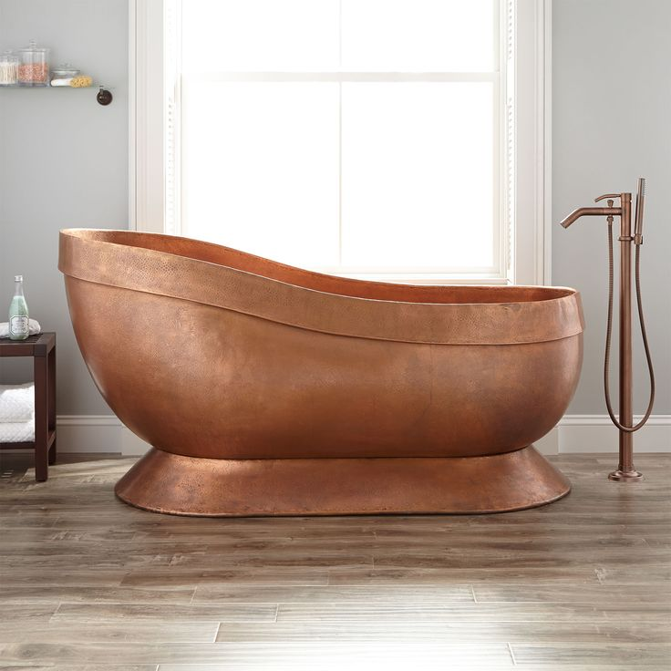 17 Best Ideas About Copper Tub On Pinterest Baths Copper Bathtub And Inter