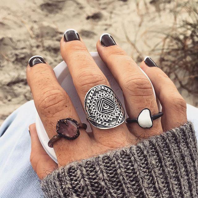 Bohemian Jewels || INDIE and HARPER || Moonstone-Navajo-Turquoise-Opal