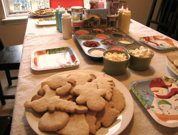 Step 10: (Day of the party!) Set the scene. | How To Throw A Cookie Decorating Party