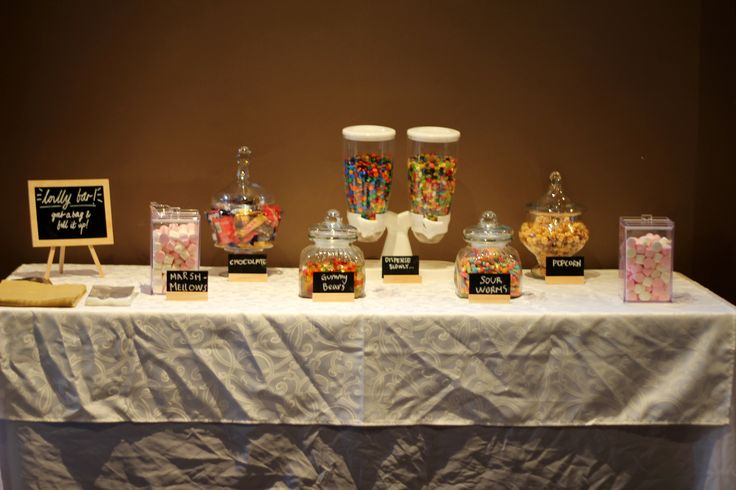 Lolly bar  #21st #party #ideas #sweet #lollybar #lollies #fun
