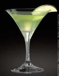 Sour Apple Martini