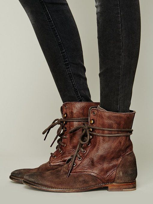 Truemay Lace Up Boot by Free People