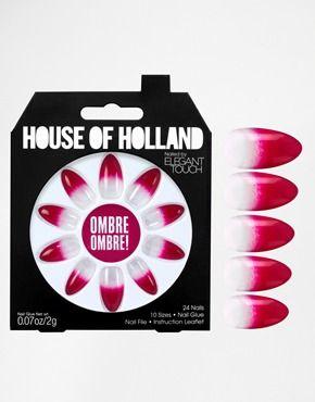 House Of Holland Nails By Elegant Touch - Motif dégradé