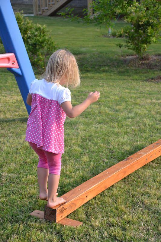 DIY Balance Beam   The Dave Krache Foundation: www.davekrache.com Helping kids play the sports they love