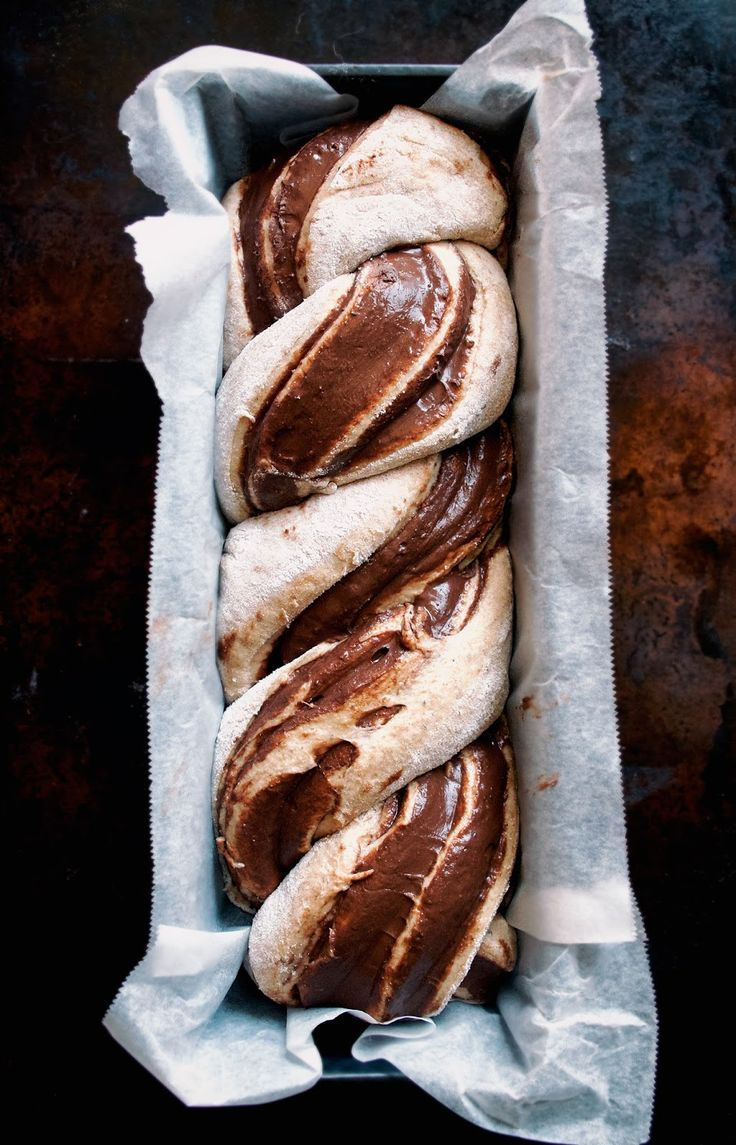 Chocolate Banana Babka | Occasionally Eggs