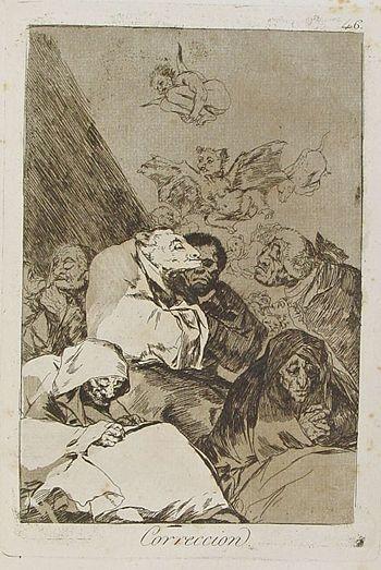 Corrección, Francisco de Goya