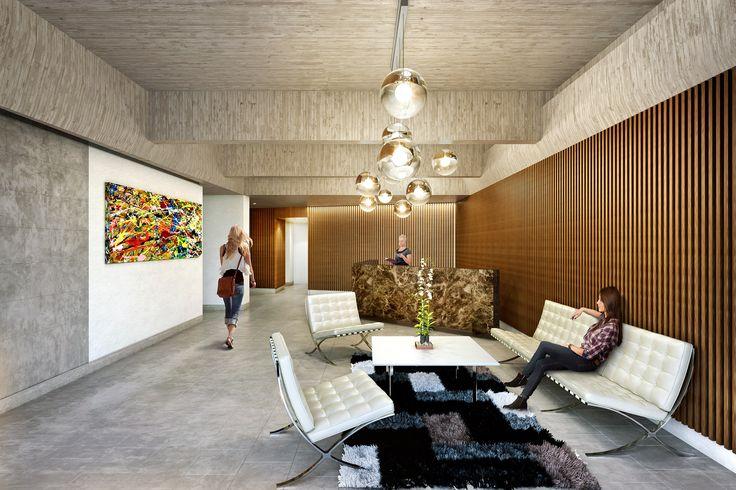 ZIMA 26 Apartamentos, Lobby Bogotá, Colombia www.glarquitectos com
