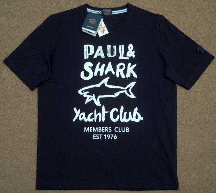 Paul & Shark Yachting T-Shirt. Size M. armpit to armpit: 56cm.   eBay!