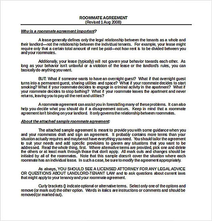 Best 25+ Roommate agreement ideas on Pinterest Roomate agreement - rent with option to buy contract