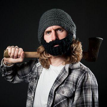 Beardo Hat Dark Grey, 23,90€, now featured on Fab.