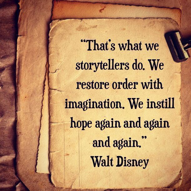 Inspiration for Writers from Walt Disney - Writers Write