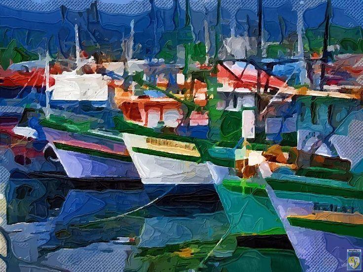 boat harbors | Old boats at harbor by imageking10 on DeviantArt