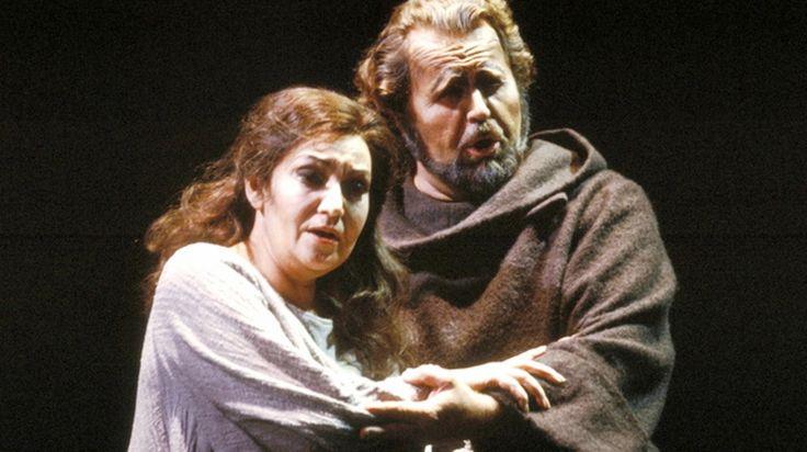 Great Romanian soprano Maria Slatinaru Nistor & basso Paul Plishka - La Forza del Destino-San Francisco Opera 1986