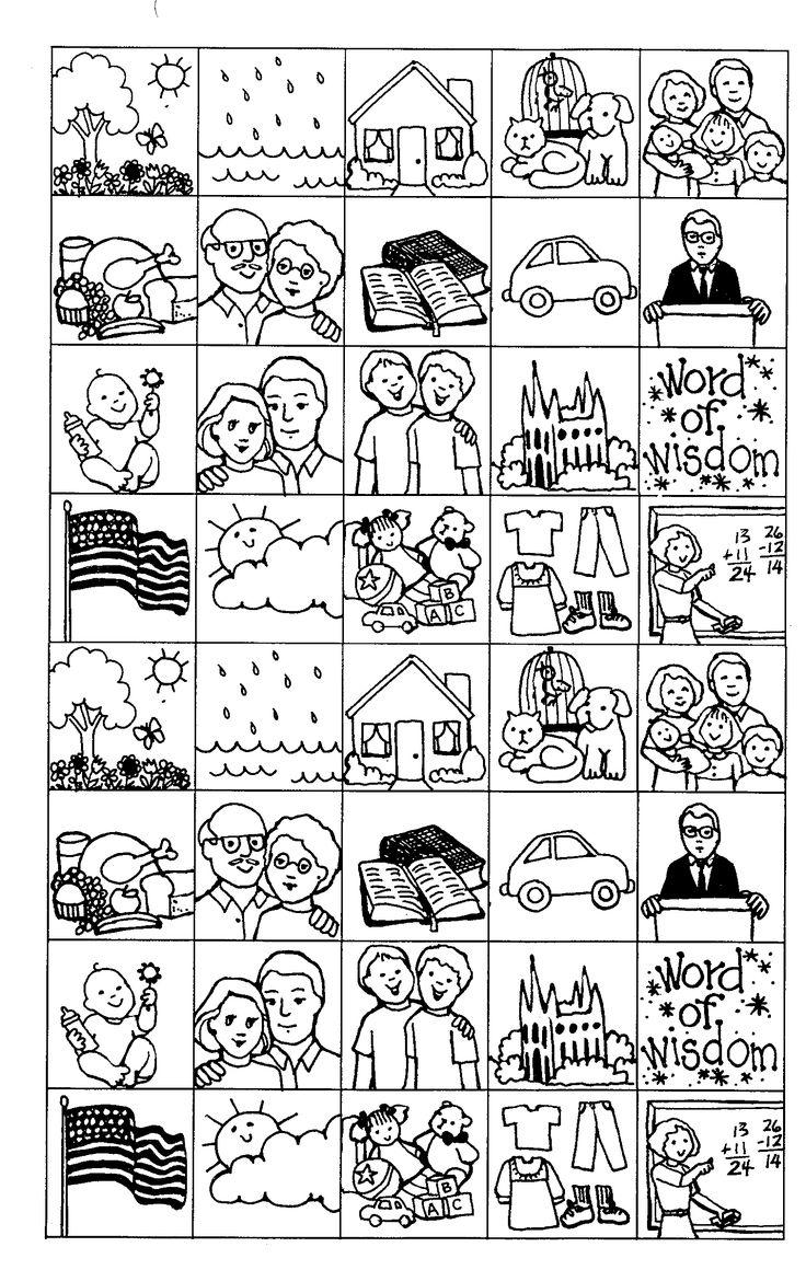 201 besten LDS Primaria Bilder auf Pinterest | Wetter, Mormonen ...