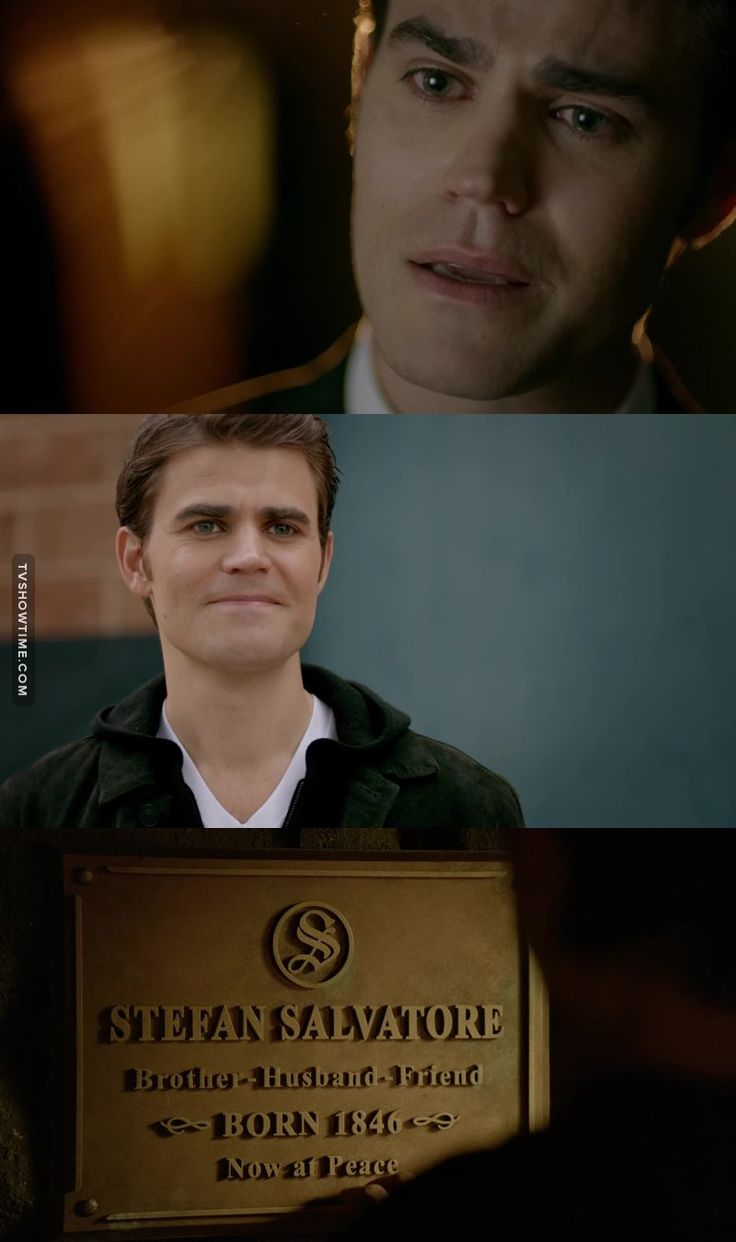 """Stefan Salvatore, you'll be missed. My hero, my love.     """"I was feeling epic"""""""