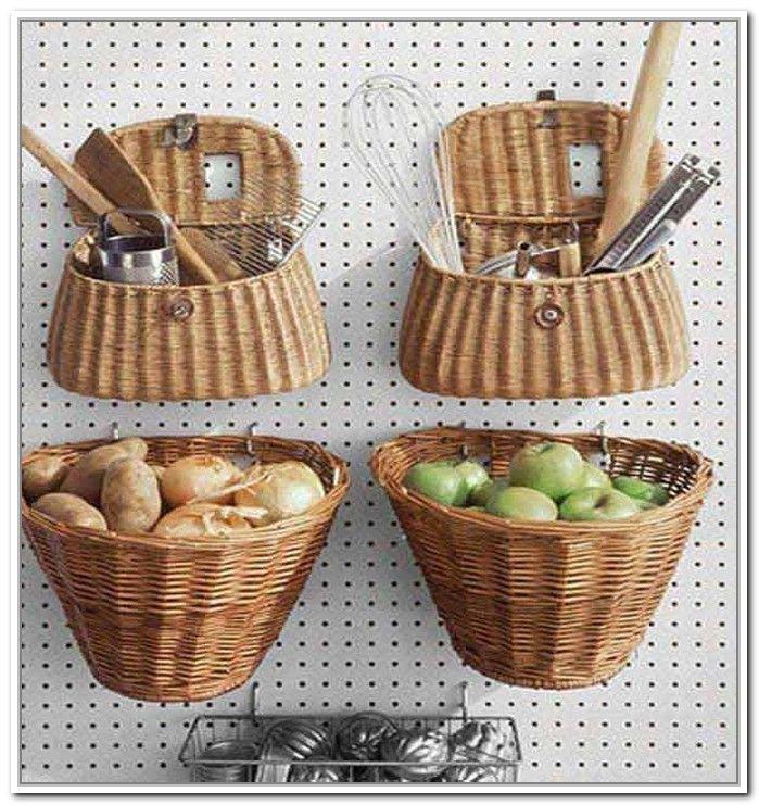 Hanging Basket Storage Ideas