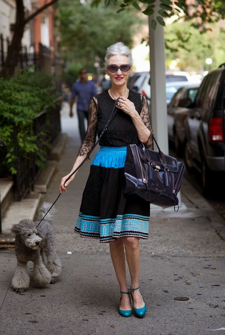 ADVANCED STYLE: Linda and Winky [ Find. Shop. Discover. www.specialteesboutique.com ]