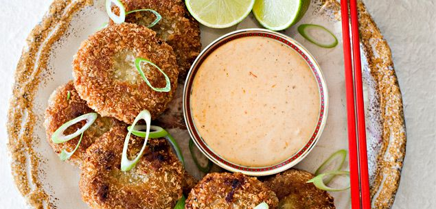 Kumara and sausage fritters - Dinner - Food & recipes - Recipes - New Zealand Woman's Weekly