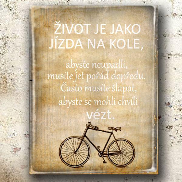 cedule nejen pro cyklisty..