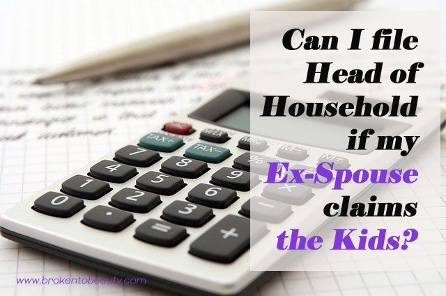 Great tax advice if you are going through a divorce. Did you know that you can file Head of Household if you meet all the requirements even if your ex is claiming your child?