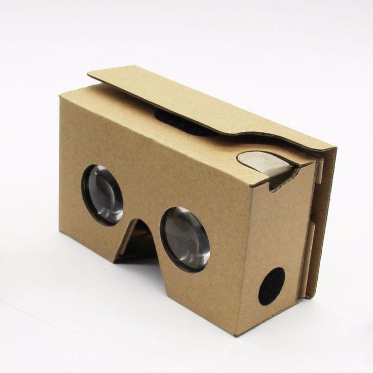 Event Supplies Logo Custom Google Cardboard V 2.0 Custom printing Virtual Reality Headset VR Viewer for up to 6 inch phone