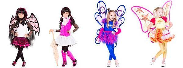 Детские карновальные костюмы феи белоснежки принцессы