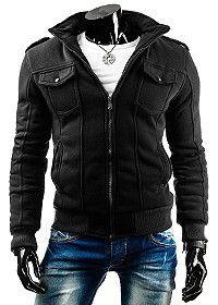 Nowość!! Męska ocieplana bluza, wykonana z grubego ciepłego materiału. Idealna na chłodne dni.  Zobacz naszą nowość: http://dstreet.pl/product-pol-3736-Bluza-bx0757-.html