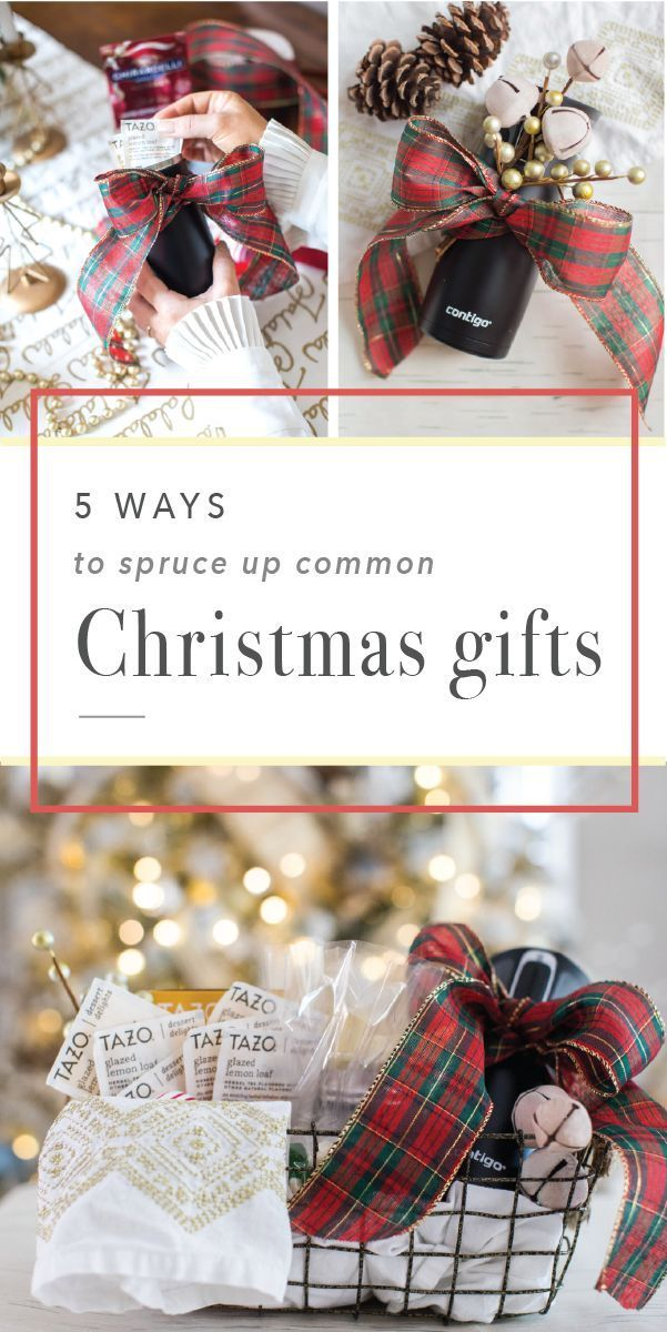 Sick of gifting the same presents during the holiday season? Check out these 5 Ways to Spruce Up Common Christmas Gifts! Featuring wonderful goodies—like tasty Tazo®️️️️ Dessert Delight Teas in Glazed Lemon Loaf and the ever-convenient Contigo®️️️️ Travel Mug—crossing friends, coworkers, and family off your holiday shopping list has never been easier. Especially since you can pick up everything you'll need at Target. Talk about fun and festive gift giving!