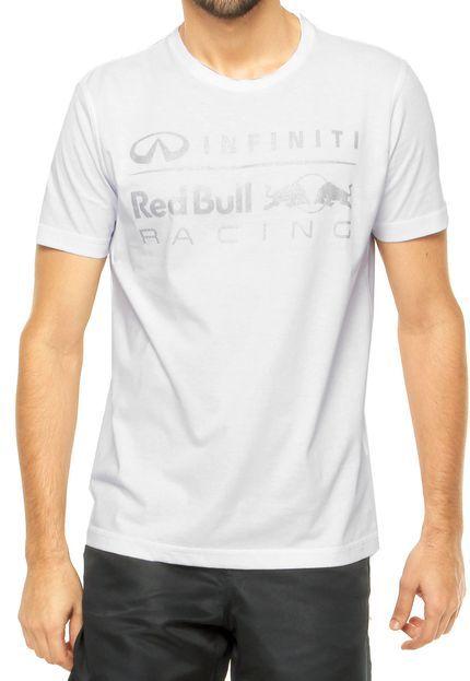 Camiseta RED BULL Branca - Compre Agora | Dafiti Brasil