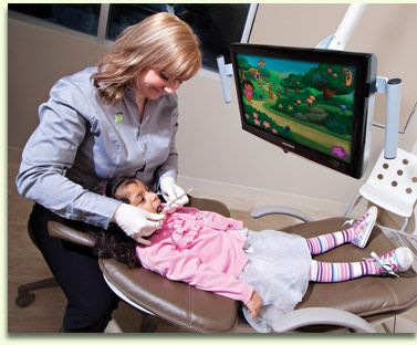 Kids are seen free when adults register with Cheadle Dentists