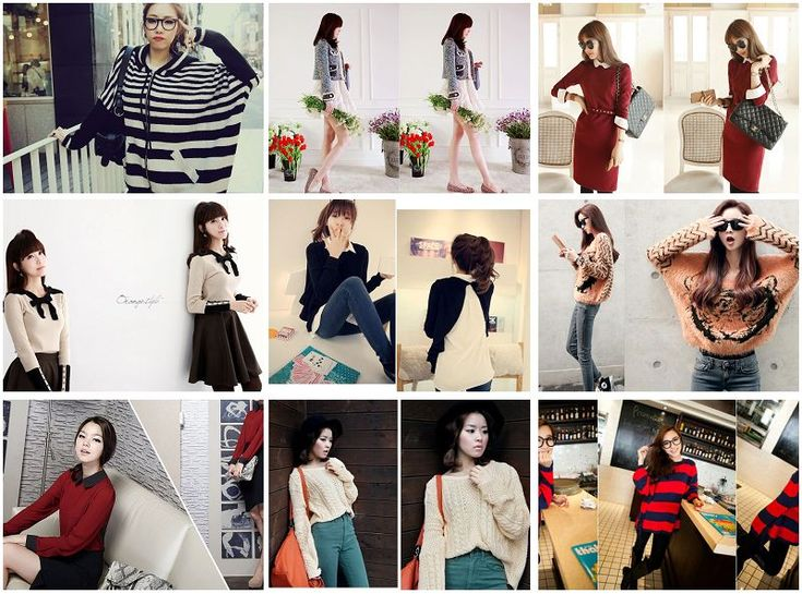 Hits fashion style ala bintang Korea